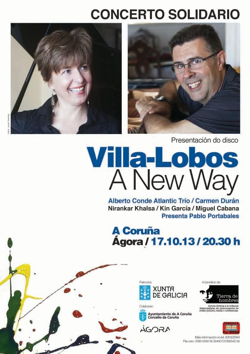 Concierto de jazz solidario a favor de Tdh en Galicia