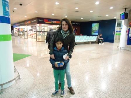 Abdessaman ya está en Marruecos con su familia y totalmente recuperado