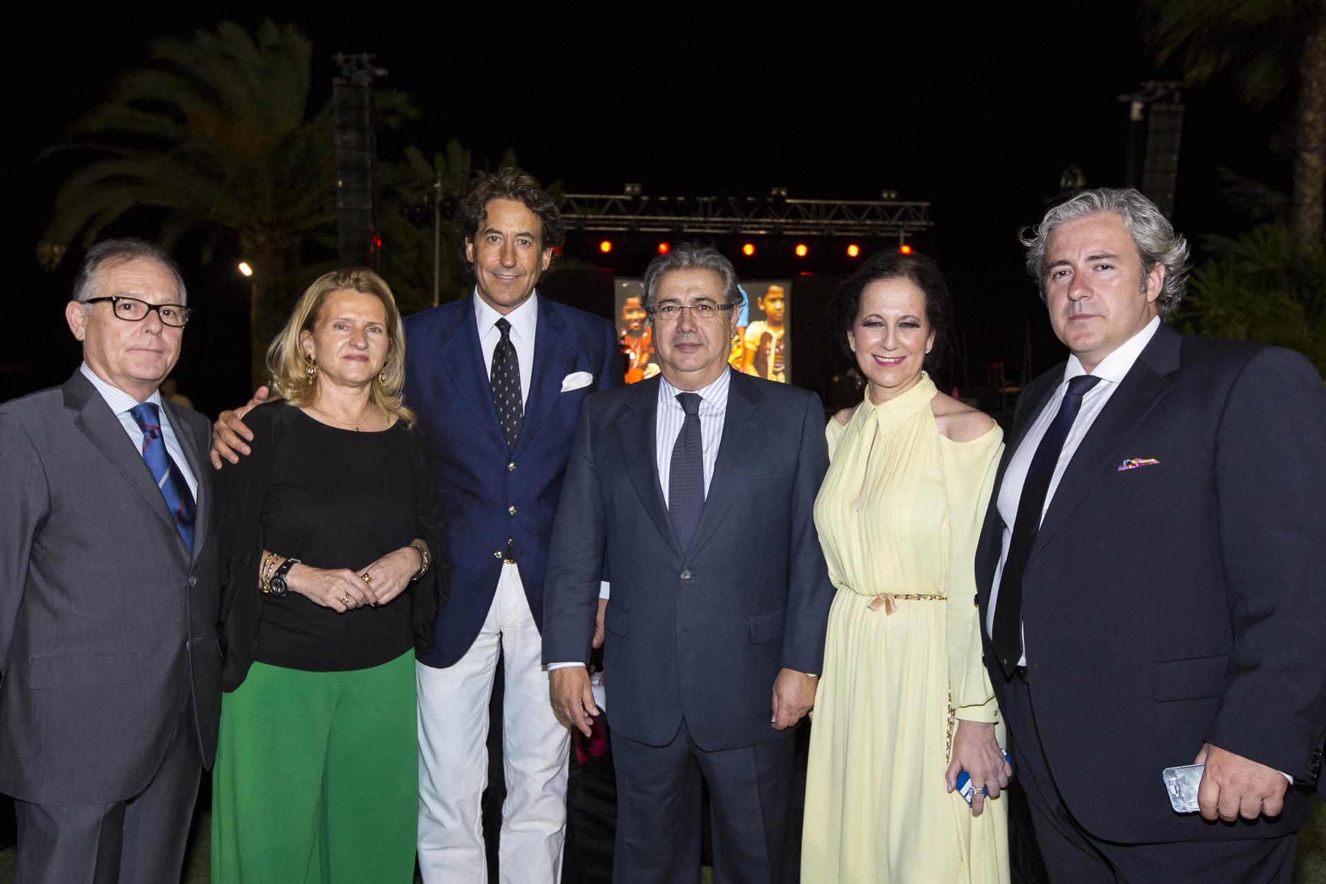 Juan Ignacio Zoido y Sra Alvaro de Marichalar Sr