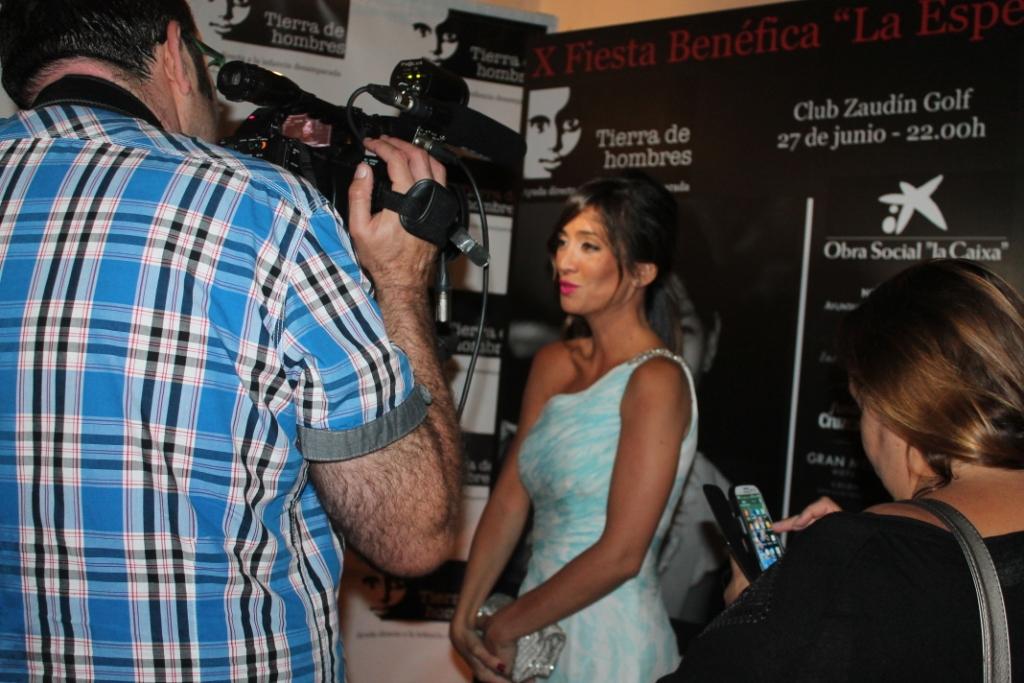 Marta Gonzlez entrevistada por Europa Presss