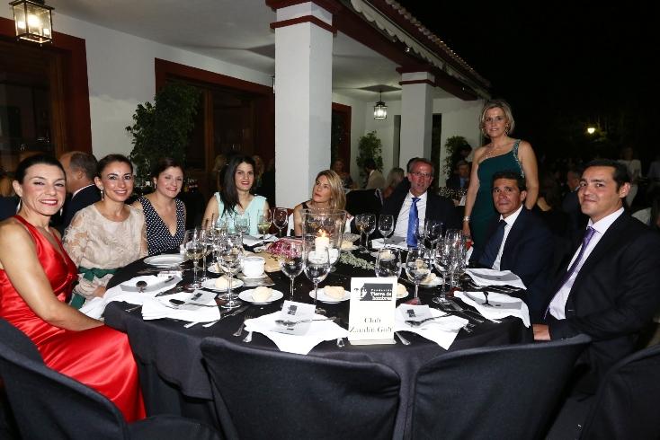 Mesa Club Zaudin Golf con Isabel Guisado y Graciela