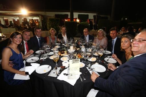 Mesa de amigos Fran Cisneros paisajista con Manolo Giraldo diseador