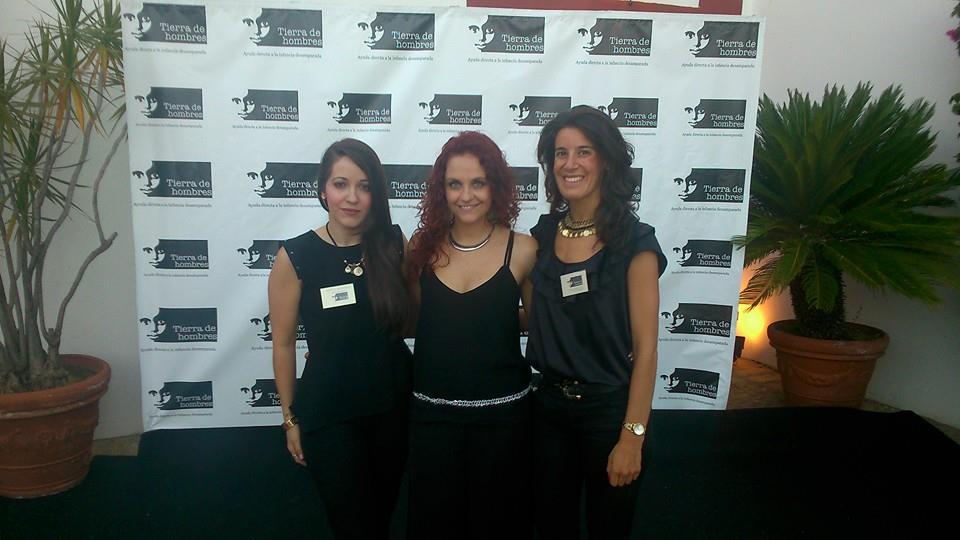 Pilar Ceballos Elsa Moya y Mara Domecq