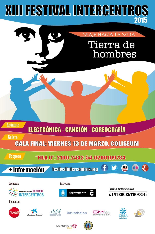 El XIII Festival Intercentros 2015, dedicado a «Viaje hacia la Vida»