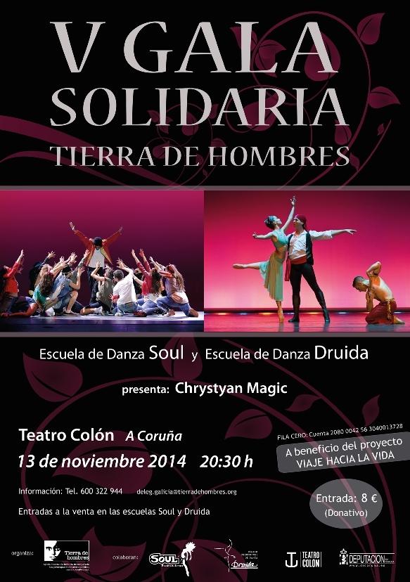 V Gala Solidaria en el Teatro Colón de A Coruña