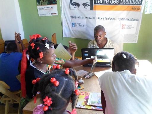 Más de 1000 niños y niñas de Haití en situación de riesgo, protegidos por Tierra de hombres gracias a la Xunta de Galicia