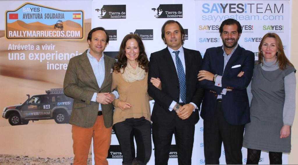 SAYYES TEAM organiza rallymarruecos.com colaborando con el programa «Viaje hacia la Vida»