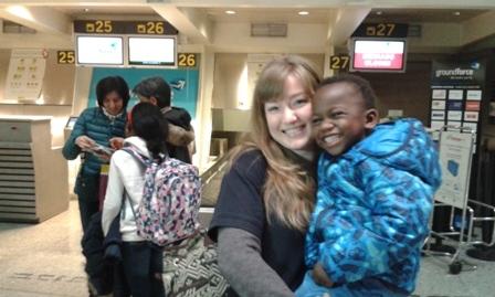 Esta semana, Mamadou y Aichetou regresan a Mauritania completamente recuperados, gracias al programa «Viaje hacia la Vida»