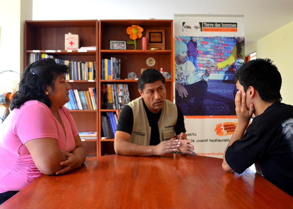 Actuación de Terre des hommes en Perú en materia de Justicia Juvenil