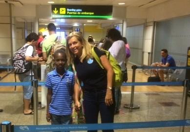 Final feliz para el «Viaje hacia la Vida» de Diallo y Mariem