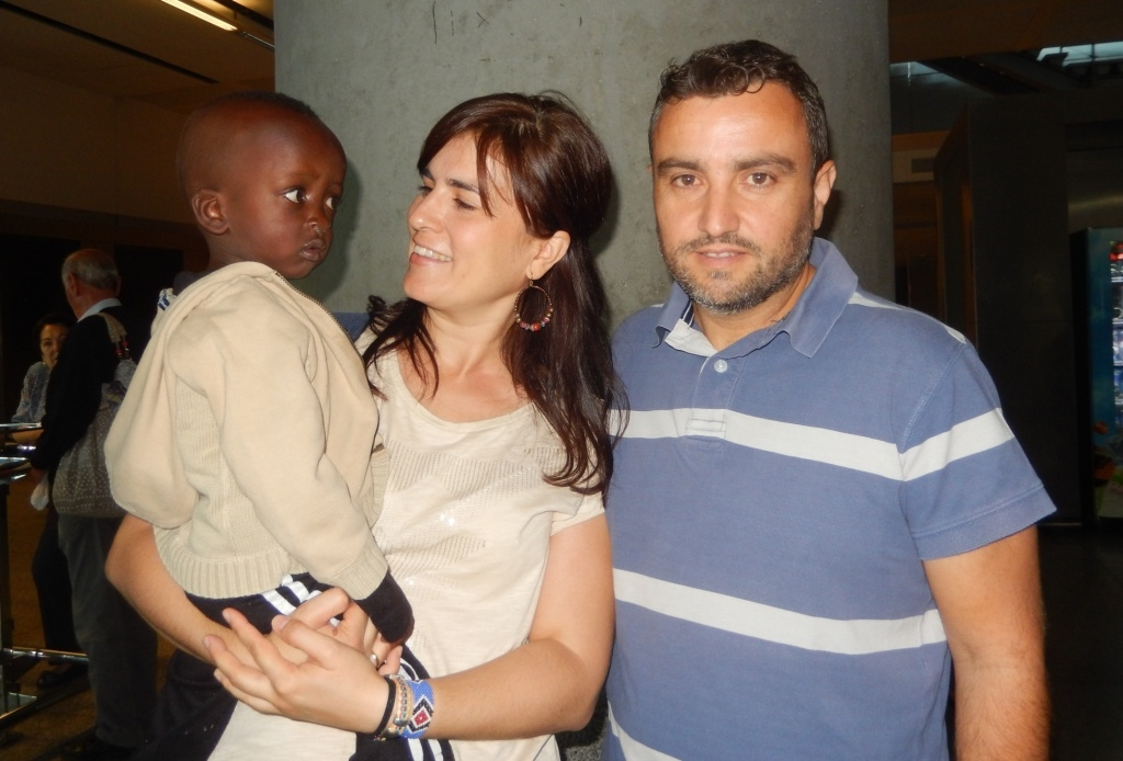 Mamadou llega a Málaga para ser intervenido en el Materno Infantil