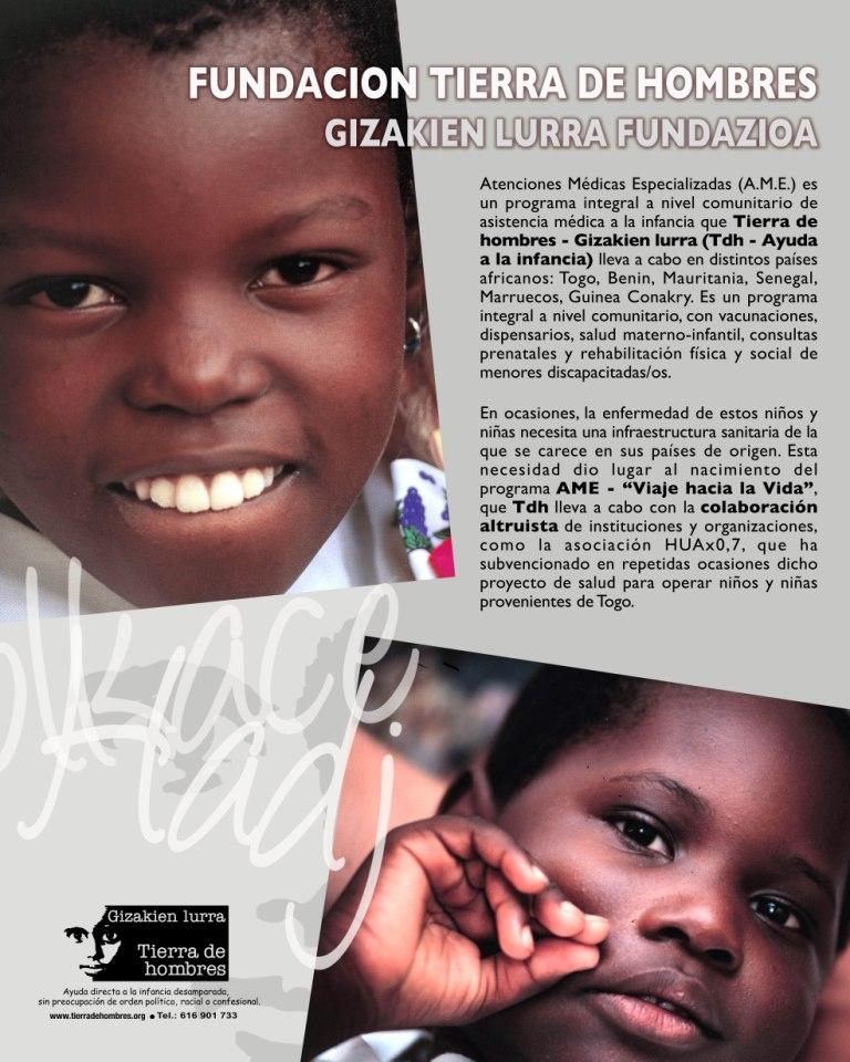 Tierra de hombres – Gizakien lurra con el Fondo de Solidaridad HUA x 0,7