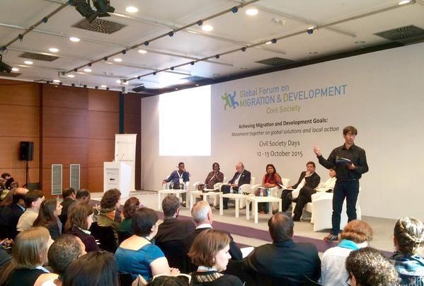 Tierra de hombres defiende en Estambul los derechos de niños y niñas migrantes – Foro Mundial sobre Migración y Desarrollo –