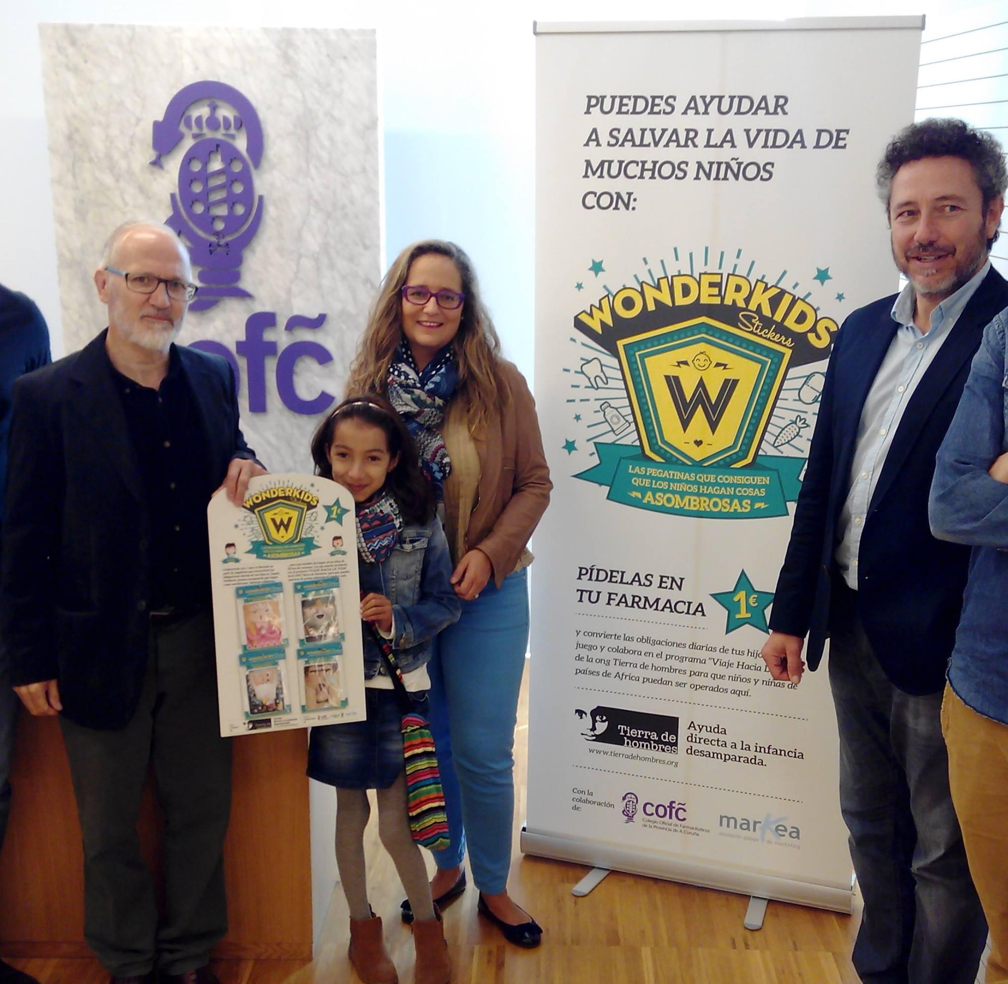 Tierra de hombres Galicia presenta la Campaña «Wonderkids»