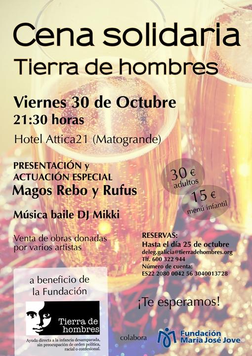 Cena Solidaria anual en A Coruña