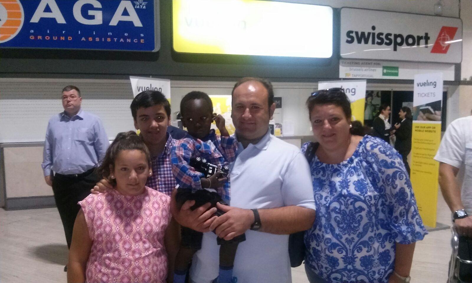 Gracias a «Viaje hacia la Vida», Cheikh a vuelto a Senegal tras ser operado de corazón en Cordoba