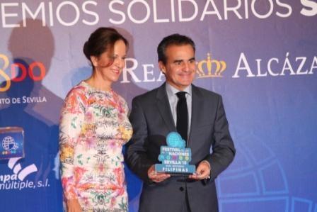 El Real Alcázar de Sevilla es testigo de los XII Premios Solidarios del Festival de las Naciones