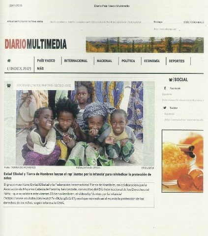 PRESS CLIPPING VIDEOCLIP MAURITANIA