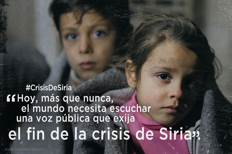 Paremos la guerra en Siria #CrisisDeSiria