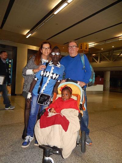 Tres marchas y una bienvenida en «Viaje hacia la Vida»