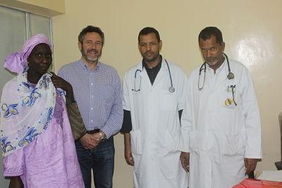 ''En Mauritania no existe aún cobertura sanitaria suficiente para tratar las cardiopatías infantiles, así que los médicos elaboran un informe detallado y solicitan el tratamiento»