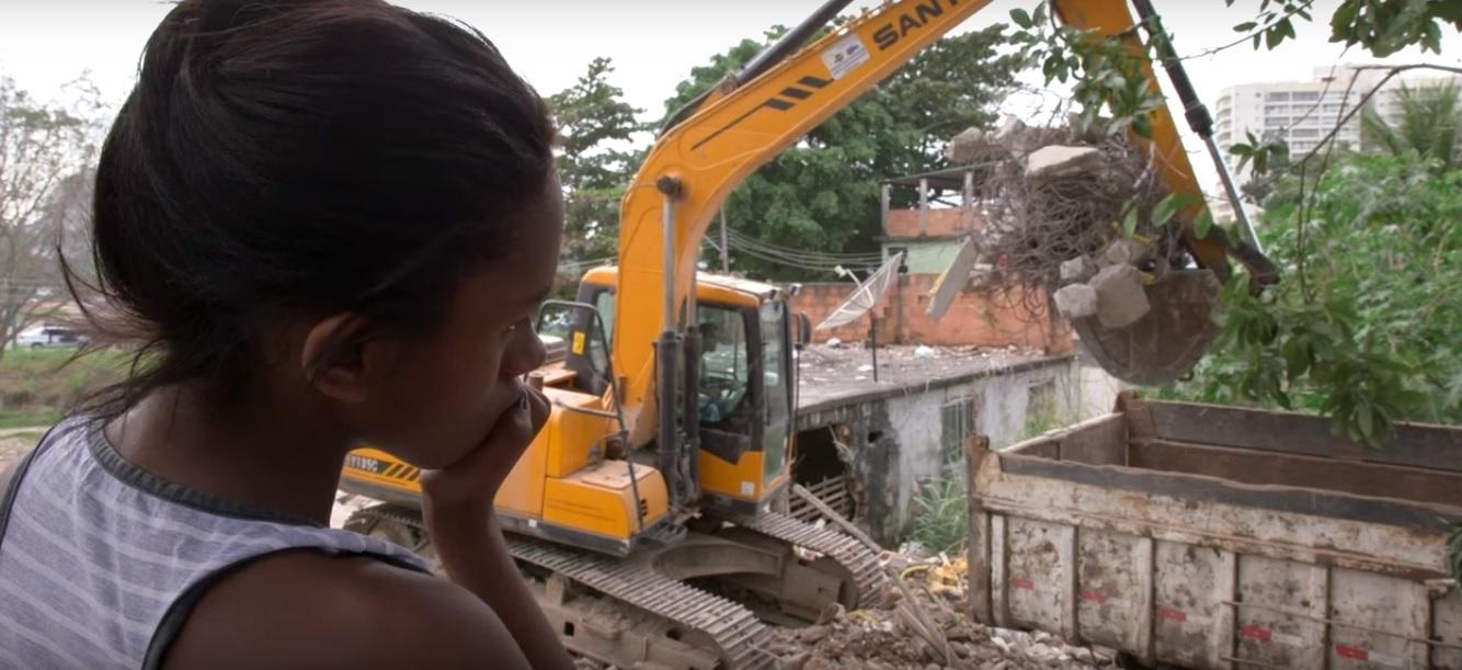 La historia de Naomy.  Río 2016: Mi comunidad destrozada