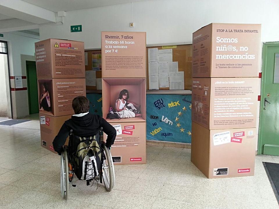 El proyecto ''Stop a la Trata Infantil'' comienza sus actividades en Andalucía