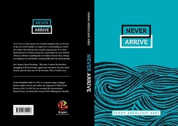 Never Arrive Cover