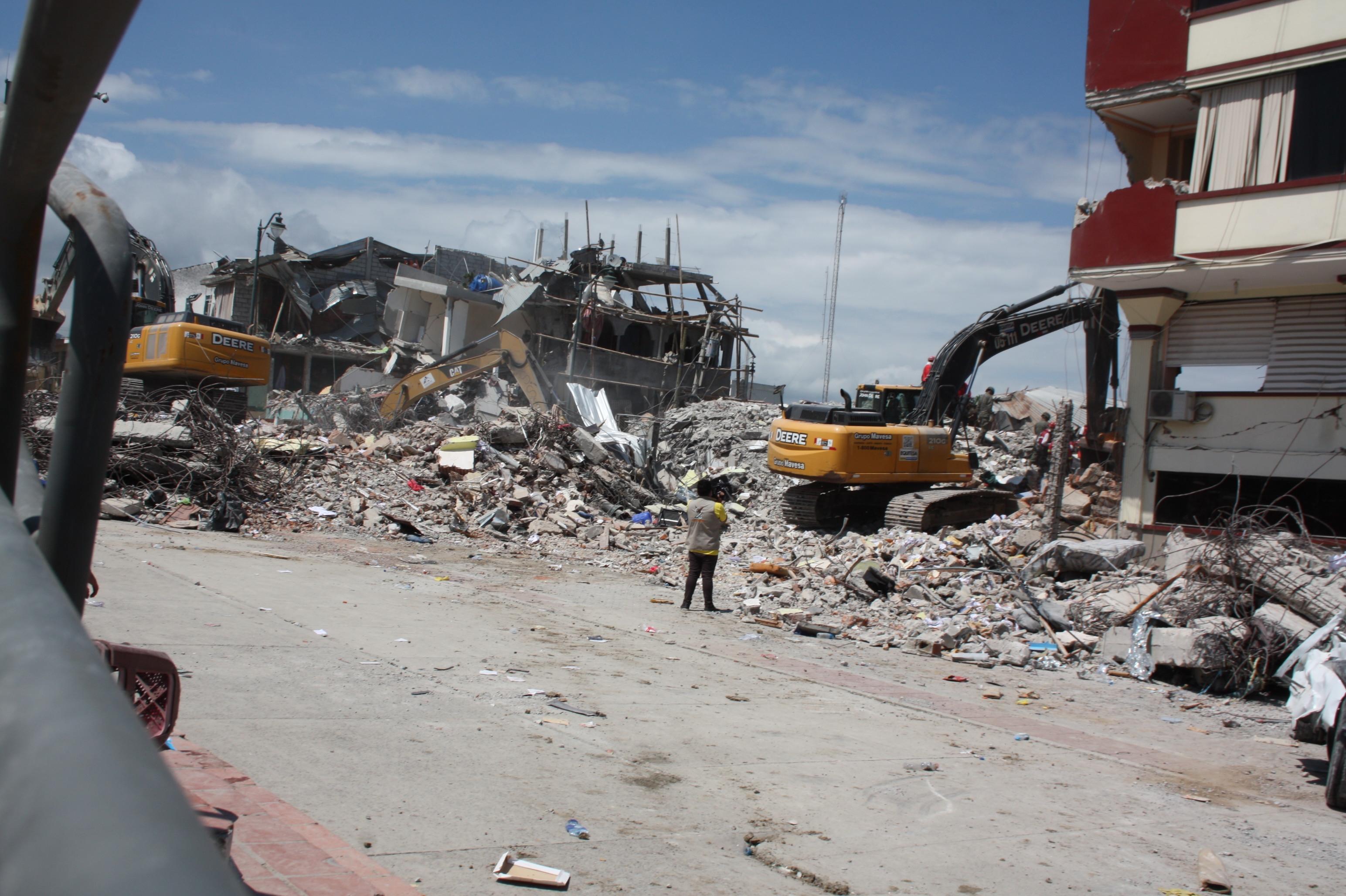 Terremoto en Ecuador: «Muchos niños y niñas dependen de sí mism@s»