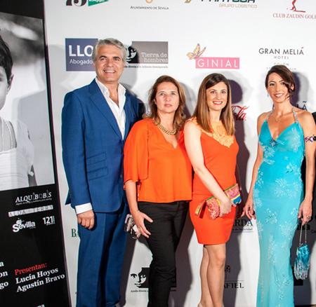 Agustn Bravo Beln Busatori Meli Sevilla Noelia Rey Meli Lebreros y Claudia Carrillo