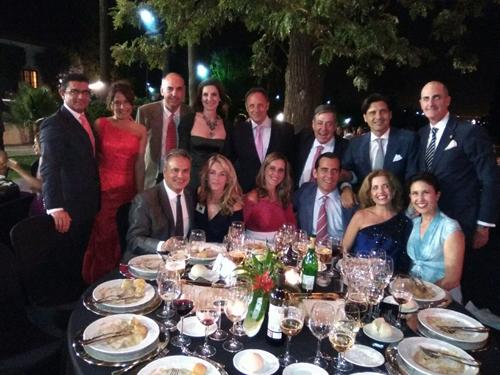 Mesa de Festival de las Naciones con Jose Ignacio Bidn e Ignacio de Cossio