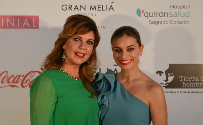 Belinda Wassintong y Norma Ruiz