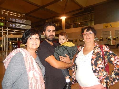 Taha, Mohamed y Anais llegan a Málaga