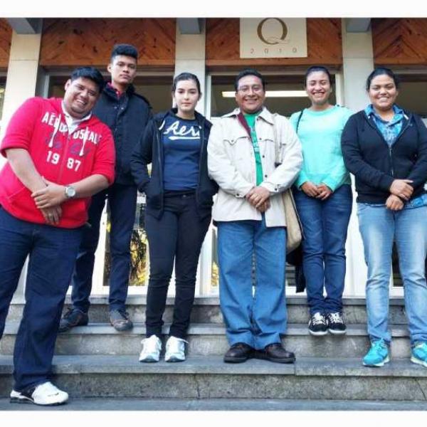 Jolas eta Ekin organiza la visita a Euskadi de jóvenes de Honduras y Guatemala para compartir la situación de los derechos humanos en sus países