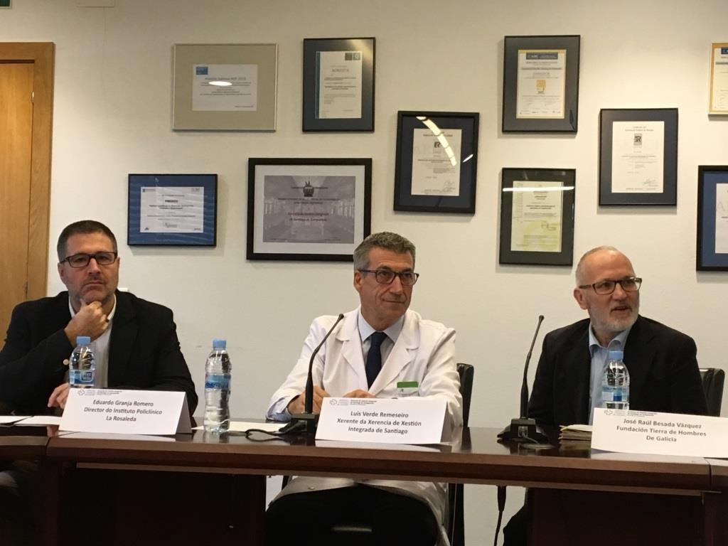 Tierra de hombres firma un acuerdo de colaboración con el Hospital Clínico de Santiago