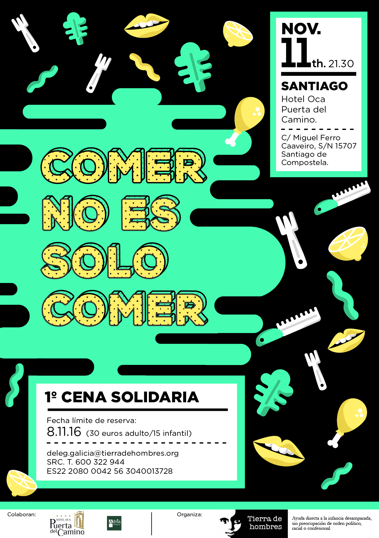 fotnot galicia cena solidaria ayuda infancia