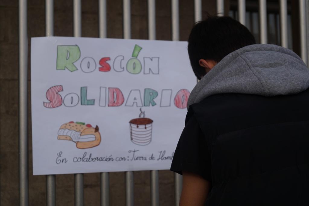 Éxito en el «Roscón Solidario» del Colegio Montessori Parque Conde de Orgaz de Madrid