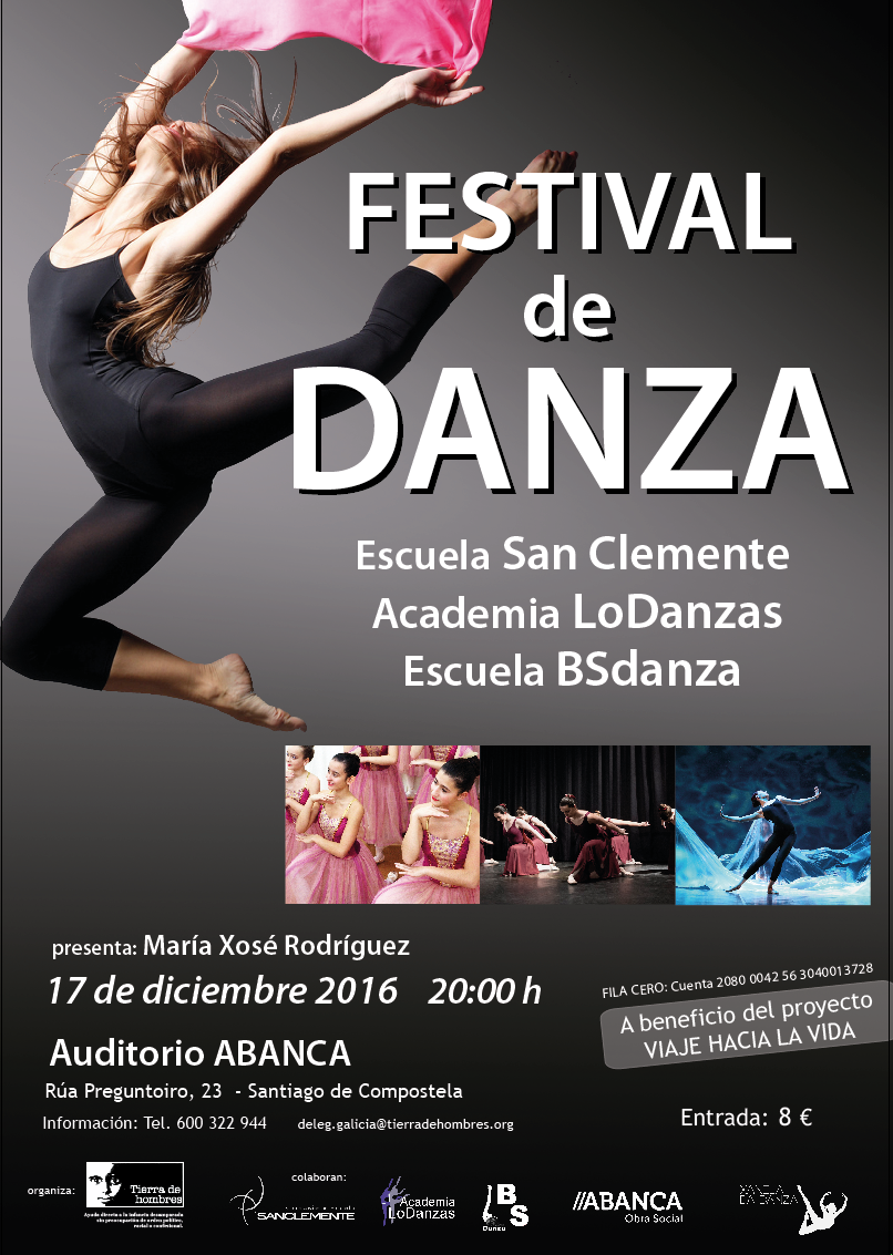 Cartel Gala Danza actual al 9.12