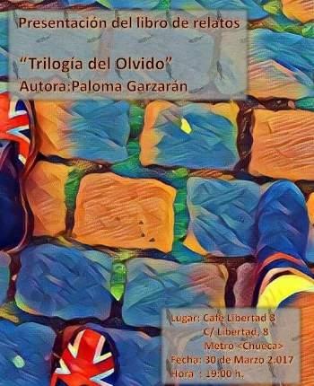 """Presentación del libro """"Trilogía del Olvido"""" a beneficio de Tierra de hombres"""