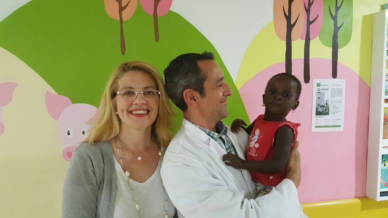 Fatimata y Amy llegan a Andalucía para poder curar sus corazones
