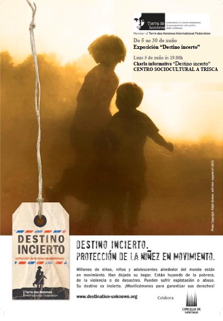 """La exposición """"Destino incierto"""" abre sus puertas el 5 de junio en el Centro Social A Trisca de Santiago de Compostela"""