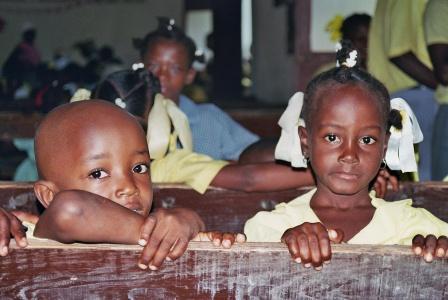Mejora de la educación básica de calidad de niños y niñas vulnerables en Corail, Puerto Príncipe