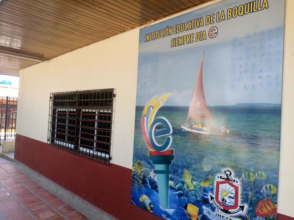Tierra de hombres dona material y equipamiento técnico a la Institución Educativa de la Boquilla de Cartagena de Indias