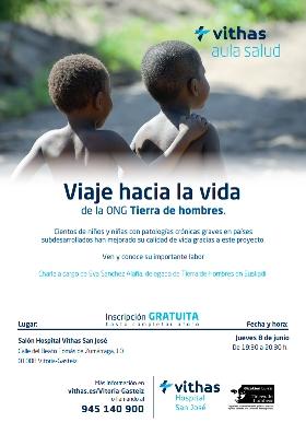 """8 de junio. El Hospital Vithas San José presenta """"Viaje hacia la Vida"""" y el proyecto de Tratamiento y prevención de la Estenosis Cáustica en Guinea"""