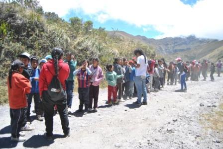 Camino Seguro. Prevención y protección  frente a la Trata de niñas, niños y adolescentes Indígenas por migraciones de riesgo entre Ecuador y Colombia