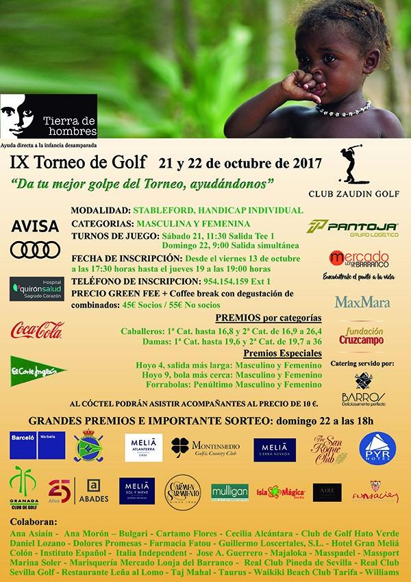XI Torneo de Golf en Sevilla. Club Zaudín. 21 y 22 de octubre