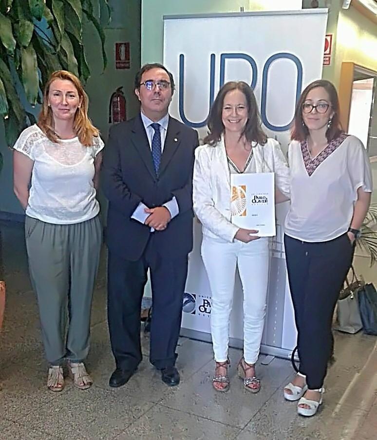 Acuerdo de colaboración con la Universidad Pablo de Olavide para Voluntariado