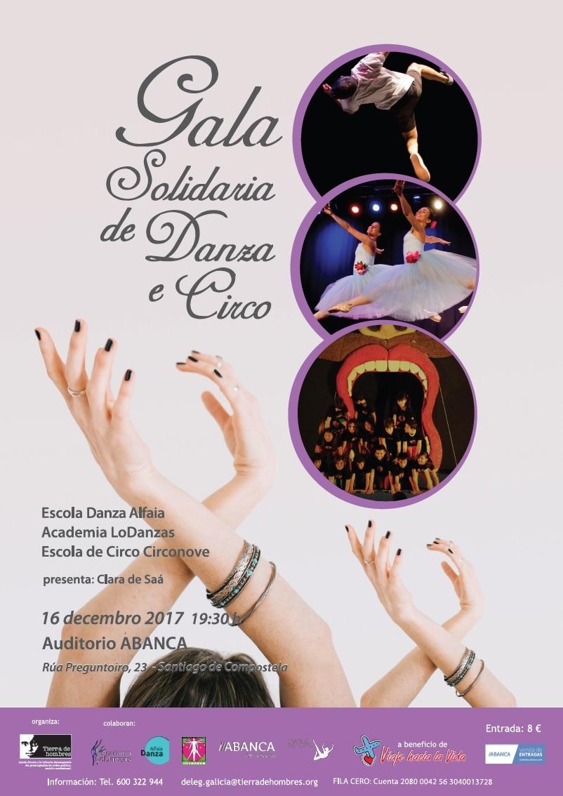 III Gala Solidaria de Danza y Circo en Santiago de Compostela