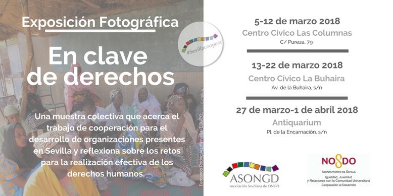 «En clave de derechos», 17 imágenes para reflexionar sobre derechos humanos (Sevilla)