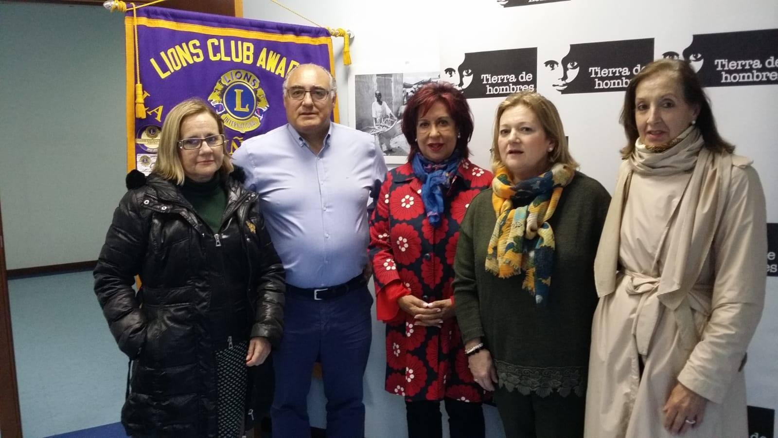 Club de Leones colabora con Tierra de hombres